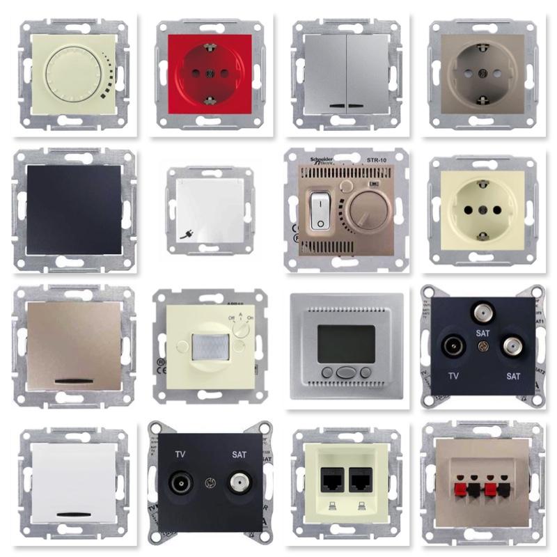 03691a9a2 Розетки и выключатели Schneider Electric / Шнайдер Электрик можно ...