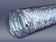 Алюминиевый воздуховод гибкий AF Ø 160 (10 метров) до 60°С