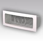 (ЭРА) Решетка вентиляционная приточно-вытяжная 234х90 с фланцем 204х60