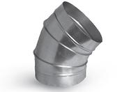 Отвод оцинкованный d160 45