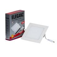 Светодиодная панель квадратная 9 Вт, 4000K, белый цвет - Eleganz