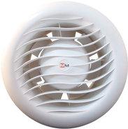 Вентилятор накладной высокотемпературный для саун ММ 100-Sk LV (низковольтный с обратным клапаном)