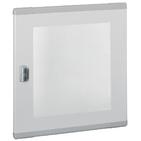 Дверь остекленная плоская для шкафов XL3 высота 600 мм (020283 Legrand)