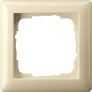 Установочная рамка 1-местн. Standard 55 глянцевый кремовый