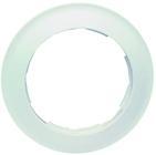 Simon 88 Одноместная круглая рамка (белый)