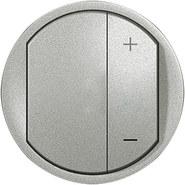 Legrand Celiane Лицевая панель светорегулятора нажимного Титан 65183