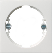 Накладка для светового сигнала, глянцевый белый, Gira System 55 (066003)