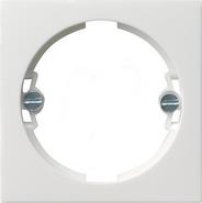 Накладка для светового сигнала, матовый белый, Gira System 55 (066027)