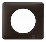 Legrand Celiane Одноместная рамка (черная перкаль)
