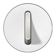 Legrand Celiane Лицевая панель выключателя одноклавишного бесшумного (белый)