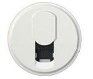 Legrand Celiane Лицевая панель розетки телефонной RJ-11 (белый)