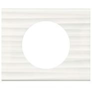 Legrand Celiane Одноместная рамка (белый рельеф)