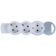 Удлинитель ультраплоский, 3 розетки, кабель 5 м