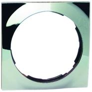 Simon 88 Одноместная квадратная рамка (хром)