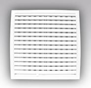 (ЭРА) Решетка вентиляционная с регулируемыми жалюзи, разъемная 180х250