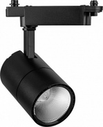 Светильник LED трековый на шинопровод 20W 35гр.4000K черный - FERON