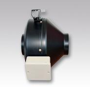 (ЭРА) Вентилятор MARS GDF 125 центробежный канальный приточно-вытяжной, стальной