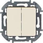 Выключатель 2 кл, 10 AX, 250 В - слоновая кость INSPIRIA 673621