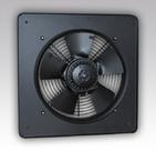 (ЭРА) Вентилятор Storm YWF2E 300 осевой низкого давления с квадратным монтажным фланцем, стальной