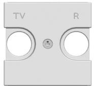 Лицевая панель для TV-R розеток - шампань, ABB Zenit (N2250.8 CV)