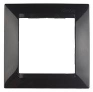 Simon 15 Одноместная рамка (черный)