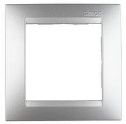 Simon 15 Одноместная рамка (алюминий)