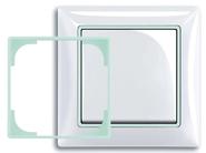 Флюоресцентная декоративная вставка в рамку ABB Basic 55 (1726-0-0228)