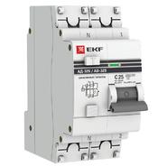 Дифавтомат 2P (1P+N) С20 100мА тип S (селективный) EKF PROxima АД-32