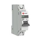 Автоматический выключатель 1P C3 EKF PROxima ВА 47-63