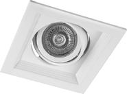 Карданный светильник, 50W, MR16, G5.3, DLT201 - белый, Feron