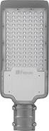 Светодиодный уличный прожектор, 50Led, 80W, 230V, 6400K, 50Hz, IP65, SP2923 - серый, Feron