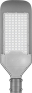 Светодиодный уличный прожектор, 100Led, 100W, 230V, 6400K, 50Hz, IP65, SP2924 - серый, Feron