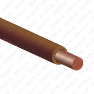 ПуВ (ПВ-1) 1x4 коричнеый, провод силовой (ПуВ 1x4 Кор)