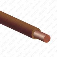 ПуВ (ПВ-1) 1x6 коричневый, провод силовой (ПуВ 1x6 Кор)