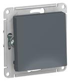 Выключатель с самовозвратом, сх.1, 10АХ, механизм - грифель, Schneider Atlas Design