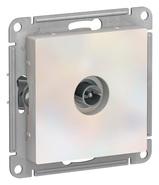 Антенна ТВ коннектор, механизм - жемчуг, Schneider Atlas Design