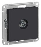 Антенна ТВ коннектор, механизм - карбон, Schneider Atlas Design
