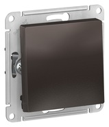 Переключатель перекрестный, сх.7, 10АХ, механизм - мокко, Schneider Atlas Design