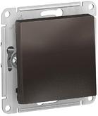 Выключатель с самовозвратом, сх.1, 10АХ, механизм - мокко, Schneider Atlas Design