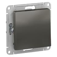Выключатель с самовозвратом, сх.1, 10АХ, механизм - сталь, Schneider Atlas Design
