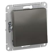 Переключатель 1 кл, сх.6, 10АХ, механизм - сталь, Schneider Atlas Design