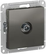 Антенна ТВ коннектор, механизм - сталь, Schneider Atlas Design