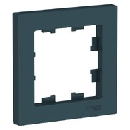 Рамка 1 пост - изумруд, Schneider Atlas Design