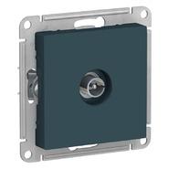 Антенна ТВ коннектор, механизм - изумруд, Schneider Atlas Design