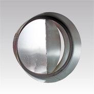 Соединитель металлический с защитой от обратной тяги D125