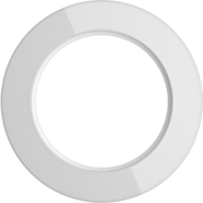 Рамка на 1 пост, WL21-frame-01 Ретро - белый, Werkel Favorit Runda