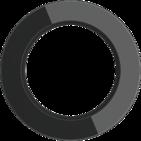 Рамка на 1 пост, WL21-frame-01 Ретро - черный, Werkel Favorit Runda