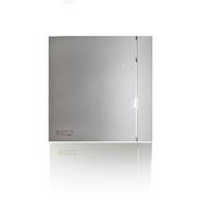 (Soler & Palau) Вентилятор накладной SILENT-100 CHZ SILVER DESIGN-3C с таймером и датчиком влажности