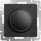 Светорегулятор, WL04-DM600 - графит рифленый, Werkel