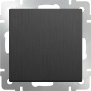 Выключатель 1 кл, WL04-SW-1G - графит рифленый, Werkel